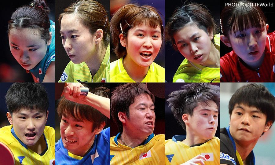 ボブソン所属のプロ卓球選手、森薗正崇とプロ卓球選手たち一覧。