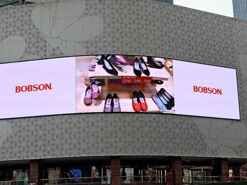 中国BOBSONで映像広告を展開