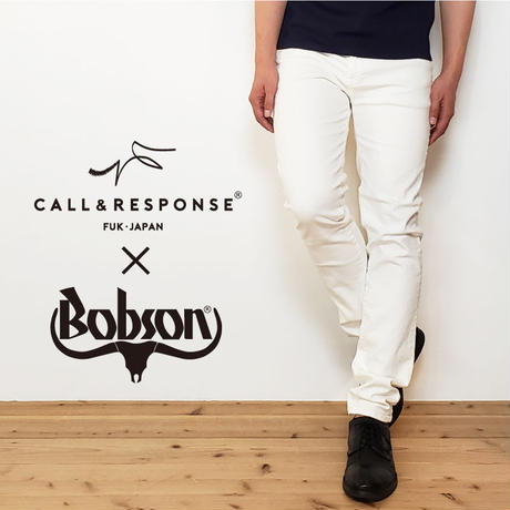【コールアンドレスポンス×BOBSON】ストレッチを極める!毎日履きたくなるジーンズ